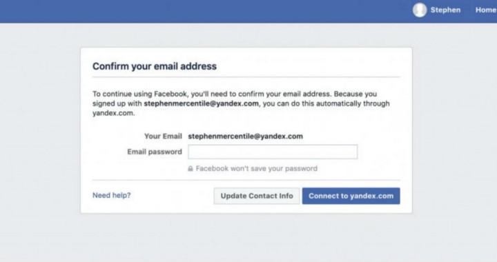 Facebook Email Harvesting
