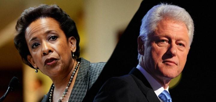 Bill Clinton Meeting With Loretta Lynch