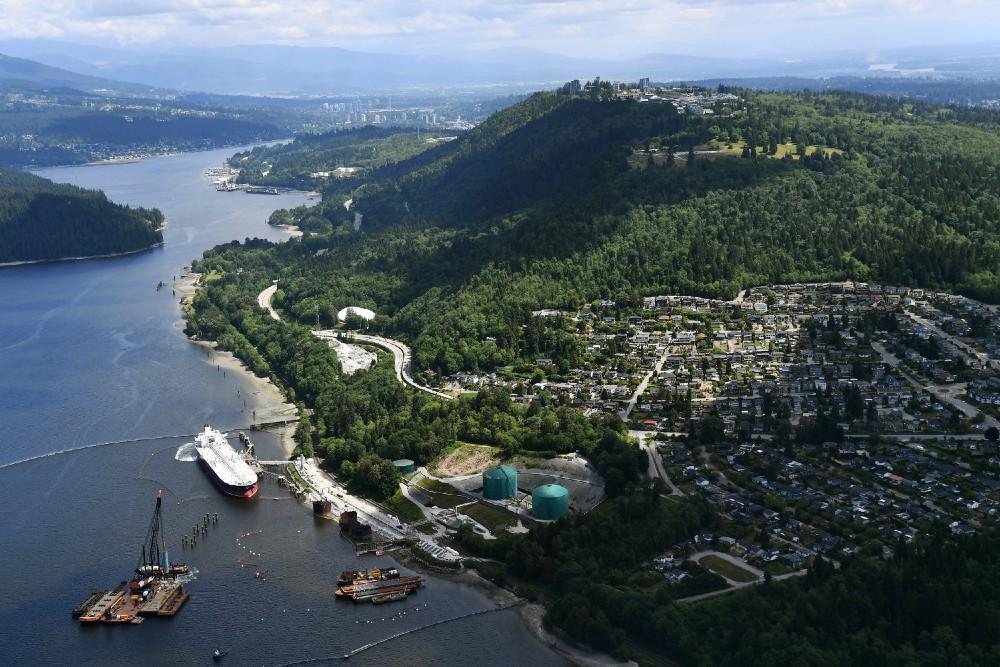 British Columbia Oil Tanker Traffic