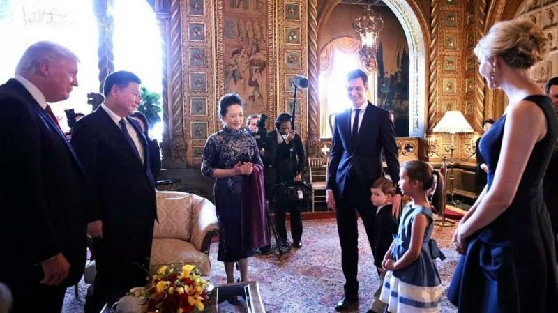 Ivanka Trump Jared Kushner meet with Xi Jinping