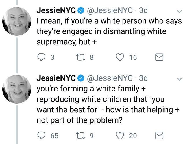 Jessie Daniels Racist Tweet