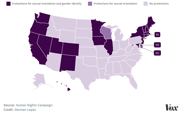 LGBTQ Civil Rights Map