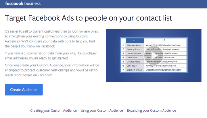 Facebook Shadow Contact Info for Advertisers