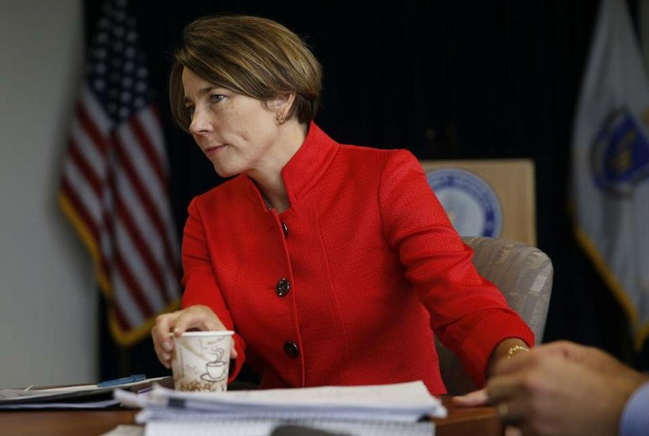 Photo of Attorney General Healey