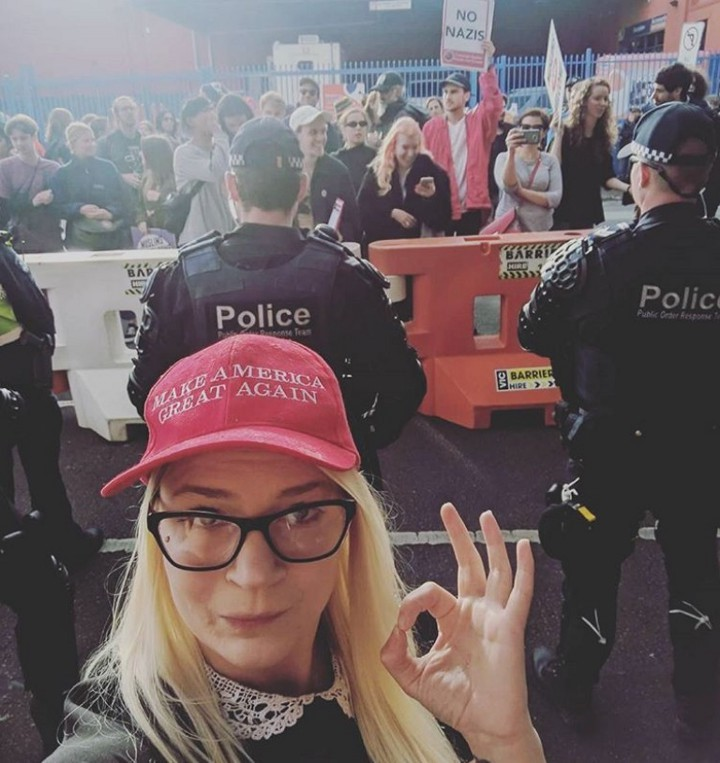 Milo Yiannopoulos Melbourne protests