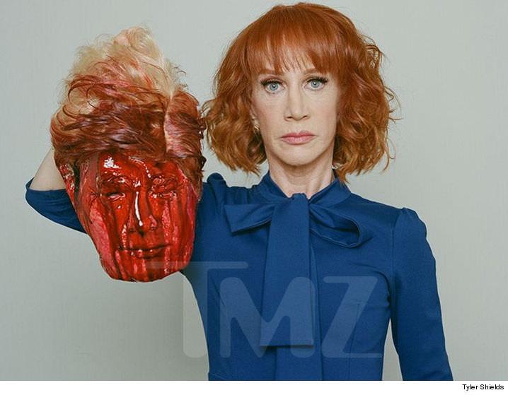 Kathy Griffin Trump Head