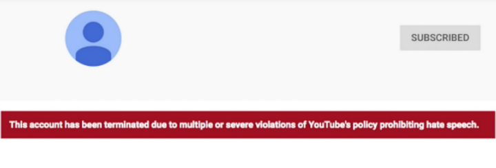YouTube Hate Speech Ban