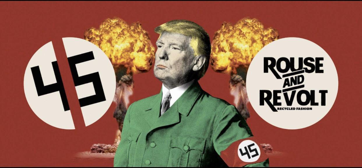 Trump 45 As Hitler