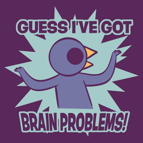 brain problems meme